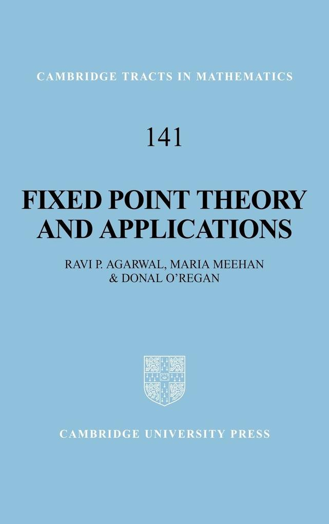 Fixed Point Theory and Applications als Buch (gebunden)