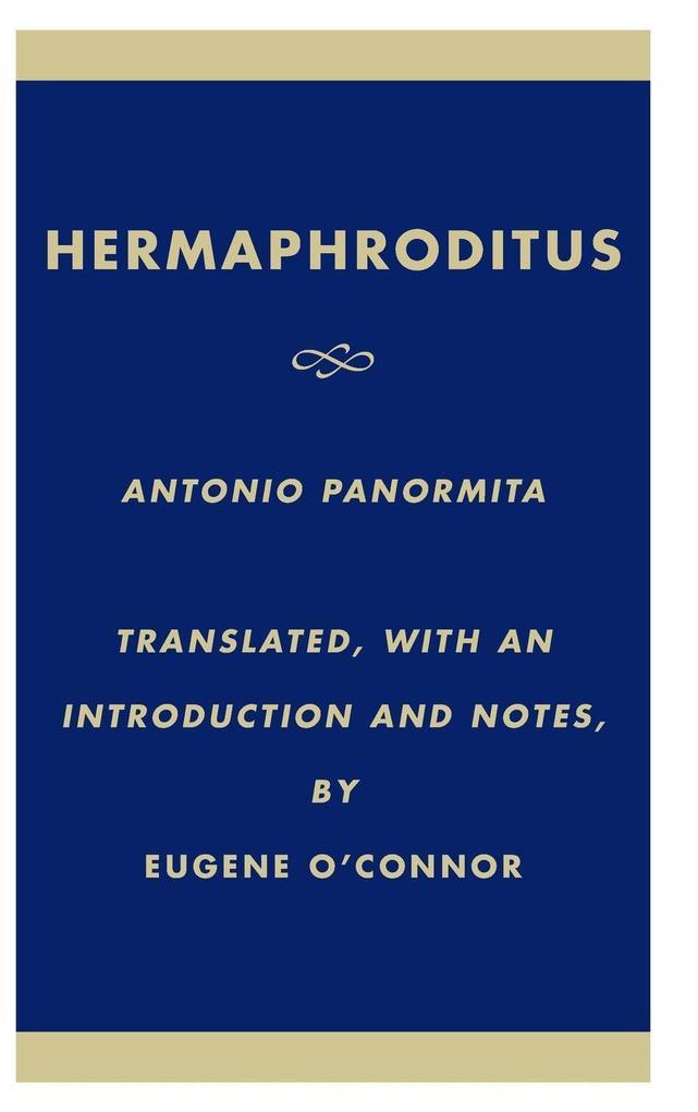 Hermaphroditus als Buch (gebunden)
