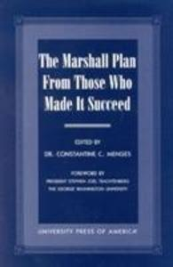 The Marshall Plan From Those Who Made It Succeed als Taschenbuch