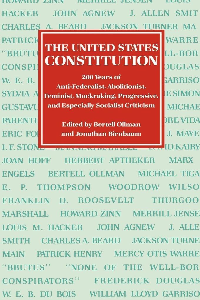 The United States Constitution als Taschenbuch