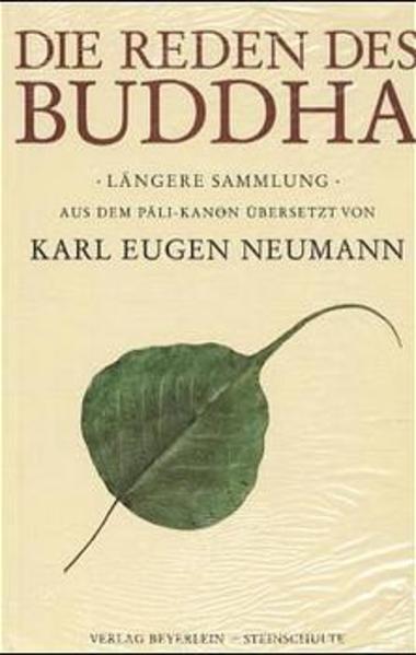 Die Reden des Buddha als Buch (gebunden)