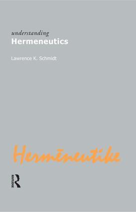 Understanding Hermeneutics als Buch (gebunden)