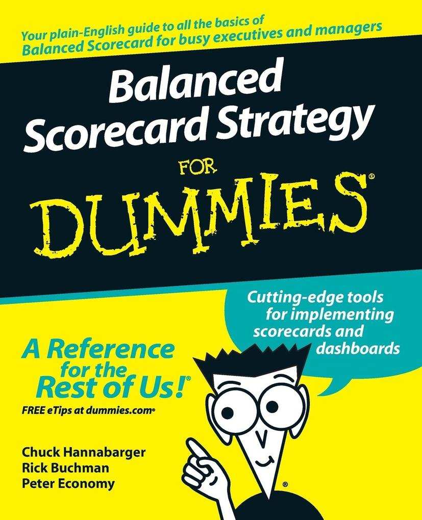 Balanced Scorecard Strategy for Dummies als Buch (kartoniert)