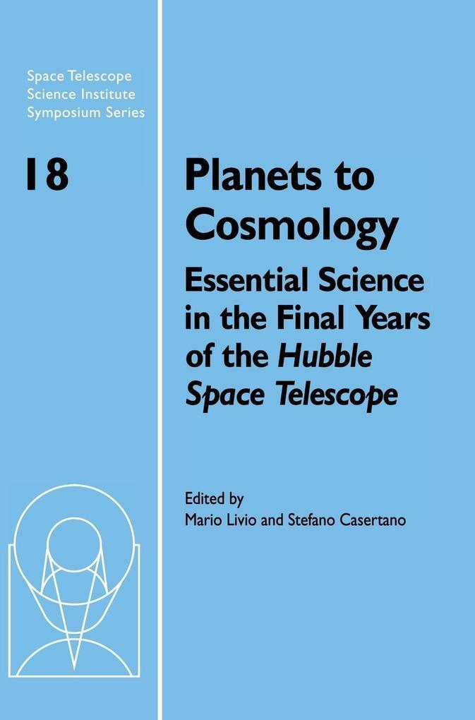 Planets to Cosmology als Buch (gebunden)