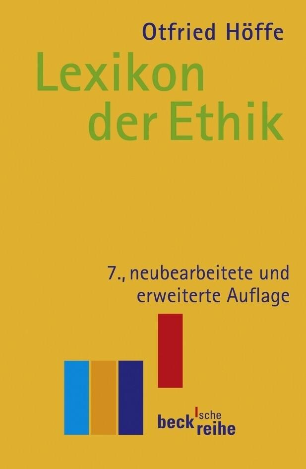 Lexikon der Ethik als Taschenbuch