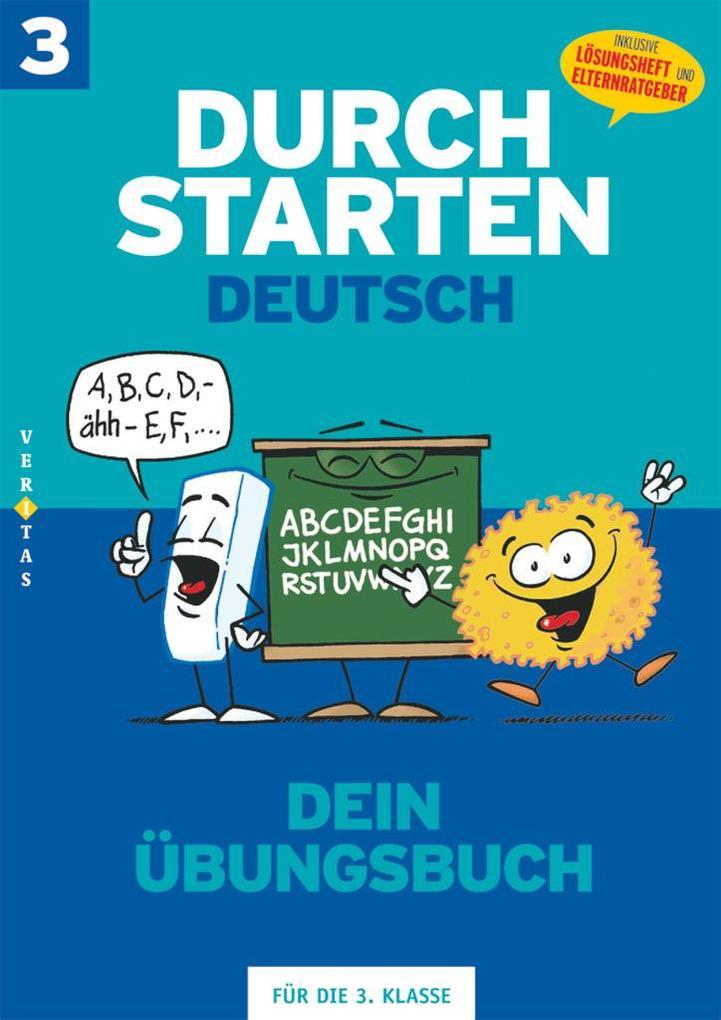 Durchstarten in Deutsch 3. Schuljahr. Dein Übungsbuch als Buch (kartoniert)