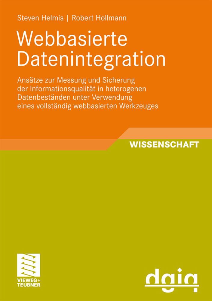 Webbasierte Datenintegration als Buch (kartoniert)