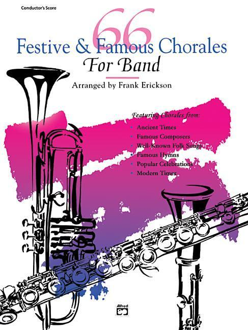 66 Festive and Famous Chorales for Band: 2nd Trombone, Baritone B.C. als Taschenbuch