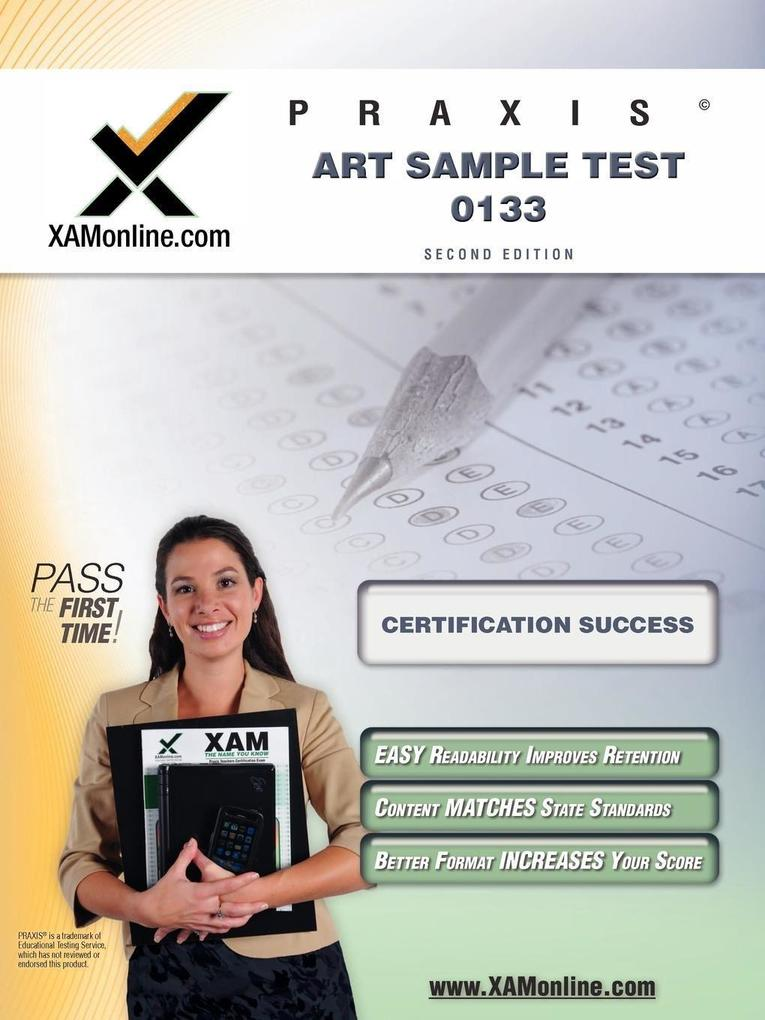 Praxis Art Sample Test 10133 Teacher Certification Test Prep Study Guide als Taschenbuch