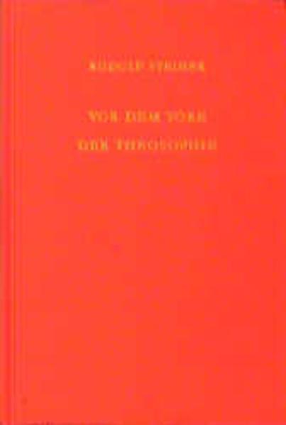 Vor dem Tore der Theosophie als Buch (gebunden)