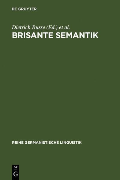 Brisante Semantik als Buch (gebunden)