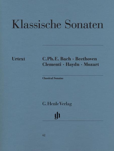 Klassische Klaviersonaten als Buch (kartoniert)