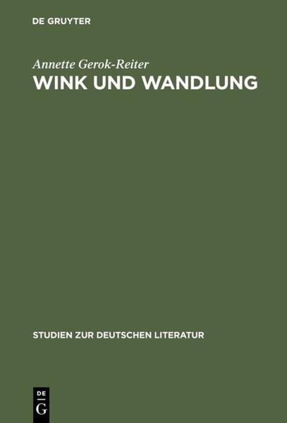 Wink und Wandlung als Buch
