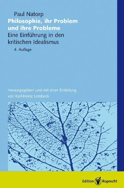 Philosophie - ihr Problem und ihre Probleme als Buch (kartoniert)