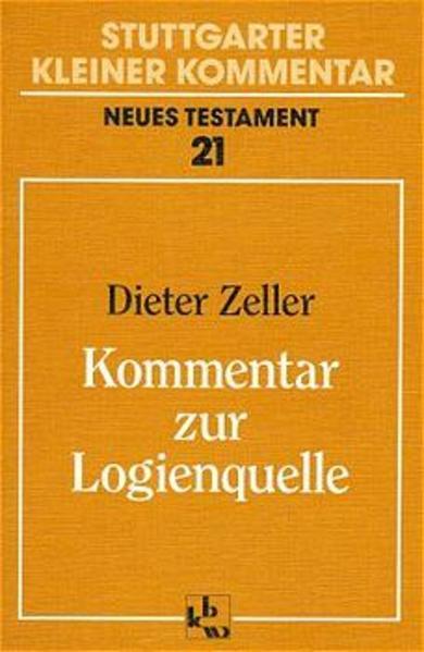 Kommentar zur Logienquelle als Buch (kartoniert)