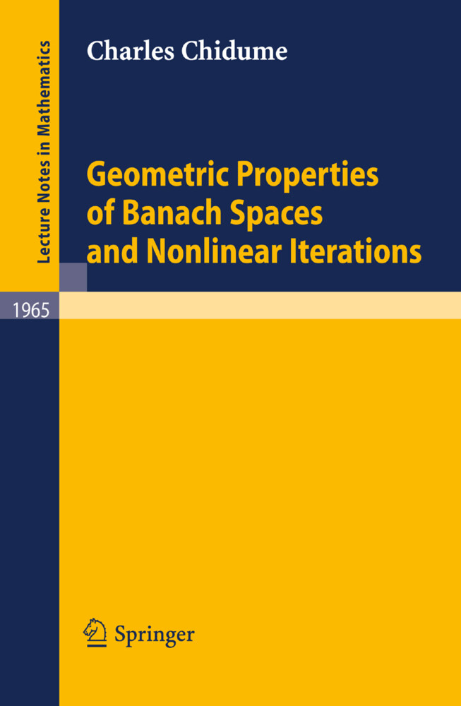 Geometric Properties of Banach Spaces and Nonlinear Iterations als Buch (kartoniert)