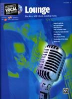 Ultimate Vocal Sing-Along Lounge: Male Voice, Book & Enhanced CD als Taschenbuch