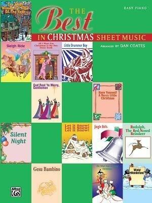The Best in Christmas Sheet Music als Taschenbuch