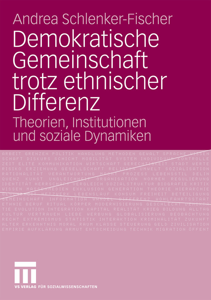 Demokratische Gemeinschaft trotz ethnischer Differenz als Buch (kartoniert)