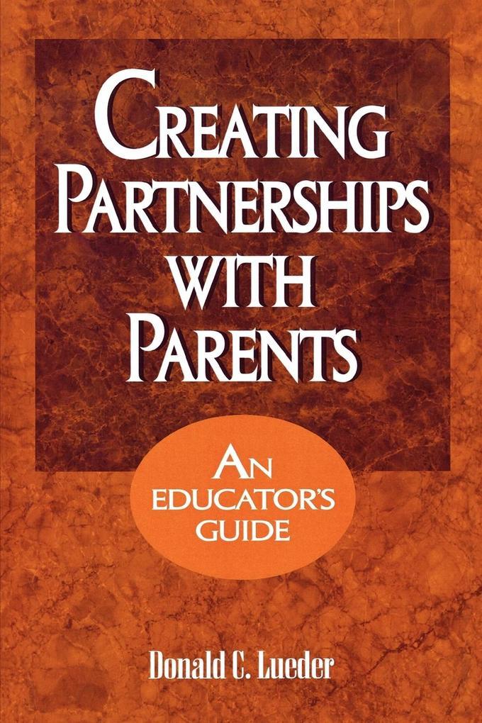 Creating Partnerships with Parents als Buch (kartoniert)