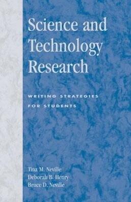 Science and Technology Research als Buch (kartoniert)