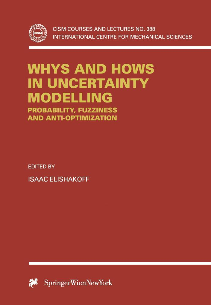 Whys and Hows in Uncertainty Modelling als Buch (gebunden)