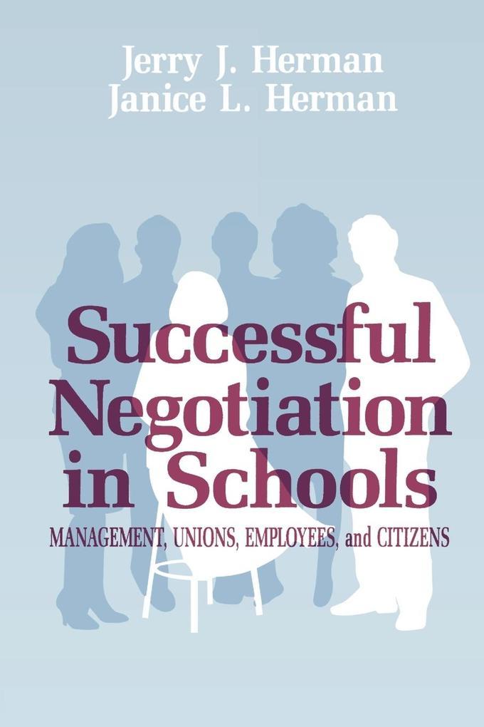 Successful Negotiation in School als Taschenbuch