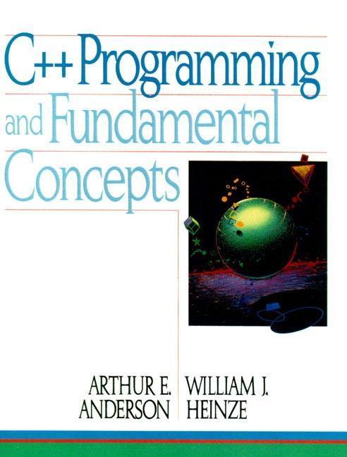 C]+ Programming and Fundamental Concepts als Taschenbuch