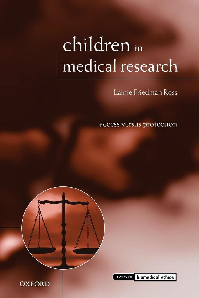 Children in Medical Research als Taschenbuch