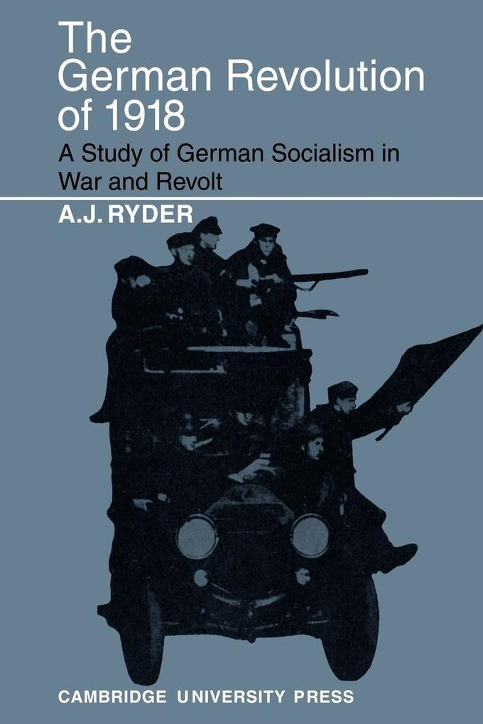 The German Revolution of 1918 als Taschenbuch