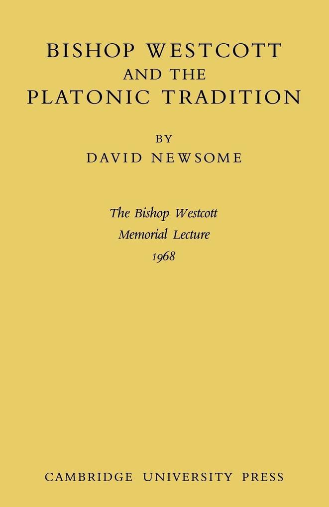Bishop Westcott als Taschenbuch