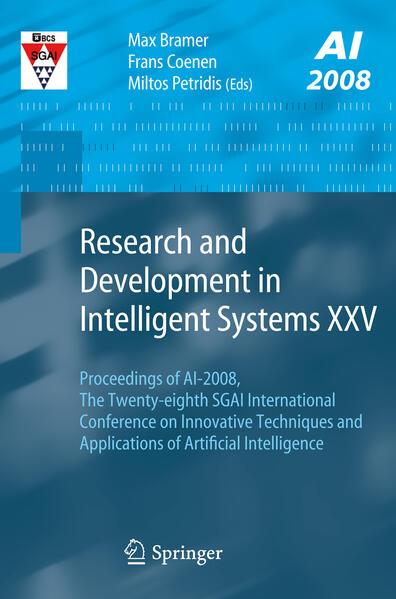 Research and Development in Intelligent Systems XXV als Buch (kartoniert)