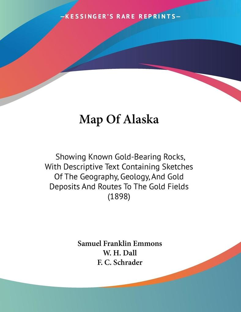 Map Of Alaska als Buch (kartoniert)