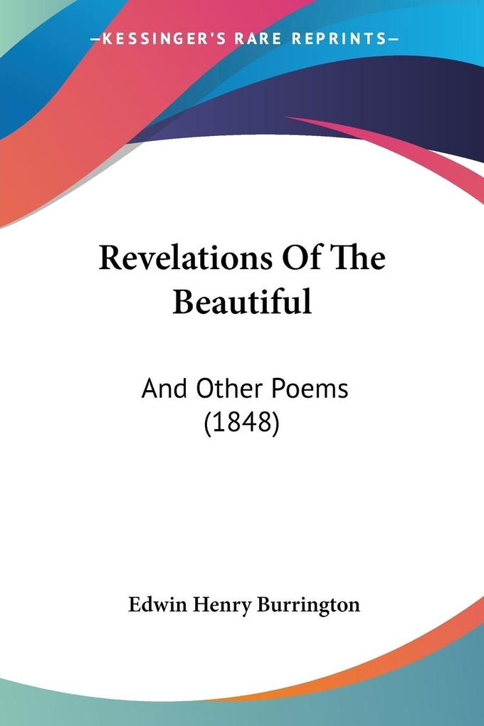 Revelations Of The Beautiful als Taschenbuch