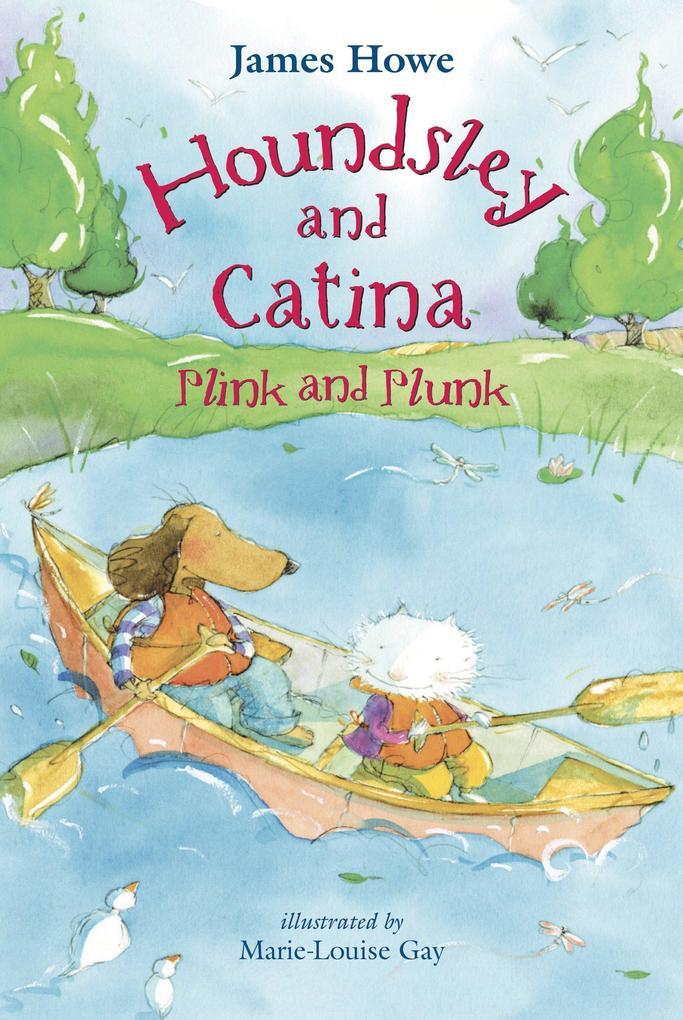 Houndsley and Catina Plink and Plunk: Candlewick Sparks als Buch (gebunden)