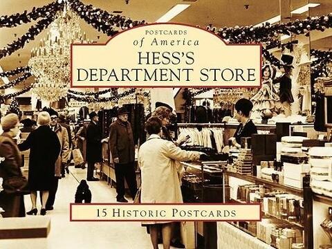 Hess's Department Store als Blätter und Karten