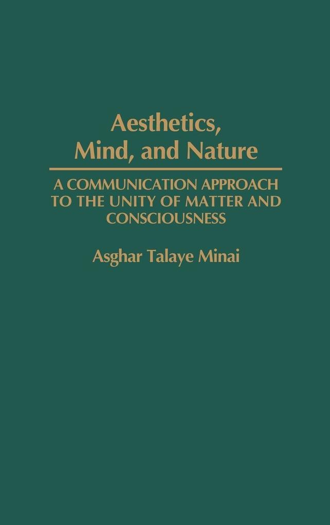 Aesthetics, Mind, and Nature als Buch (gebunden)