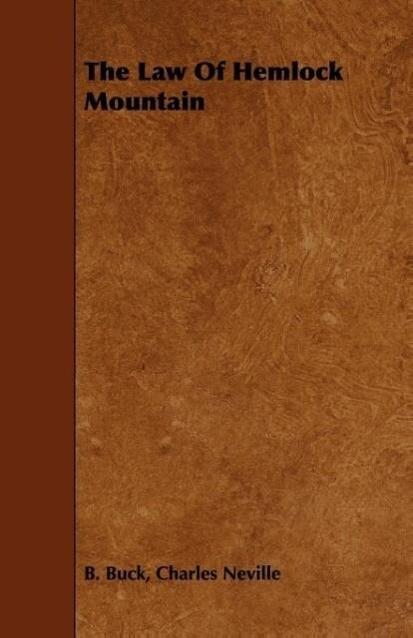 The Law Of Hemlock Mountain als Taschenbuch