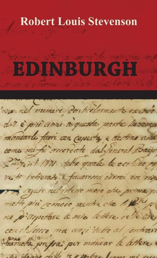 Edinburgh als Buch (gebunden)