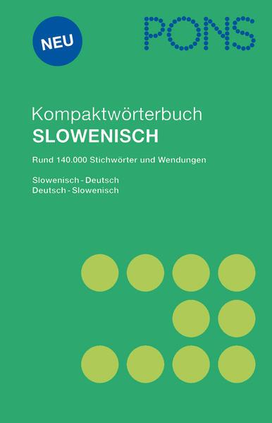 PONS Kompaktwörterbuch Slowenisch als Buch (gebunden)