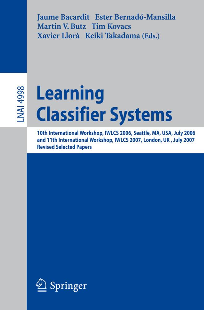 Learning Classifier Systems als Buch (kartoniert)