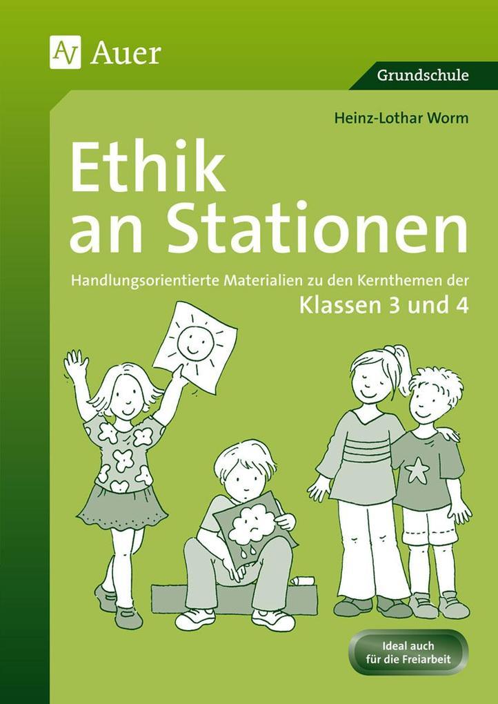 Ethik an Stationen als Buch (geheftet)