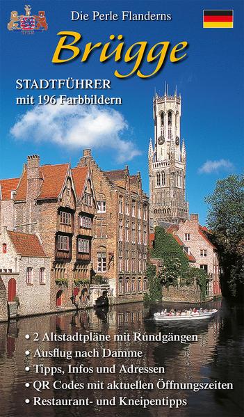 Stadtführer Brügge als Buch (kartoniert)
