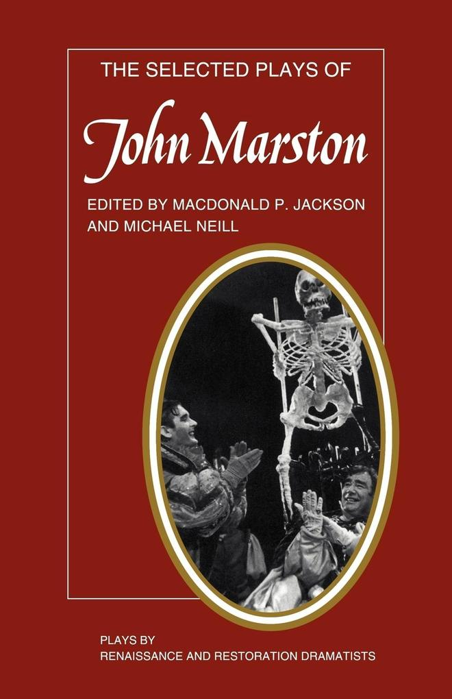 The Selected Plays of John Marston als Taschenbuch