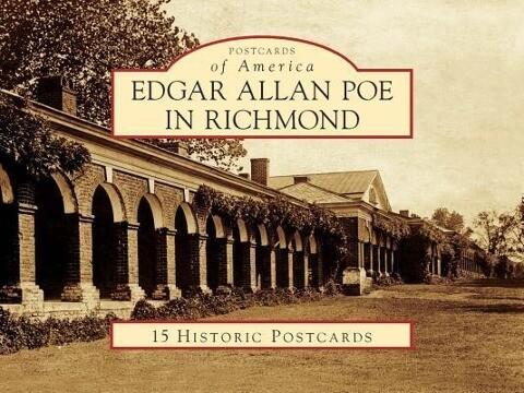 Edgar Allan Poe in Richmond als Blätter und Karten
