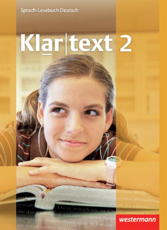 Klartext 2. Schülerband. Realschule. Baden-Württemberg, Rheinland-Pfalz, Saarland als Buch (gebunden)