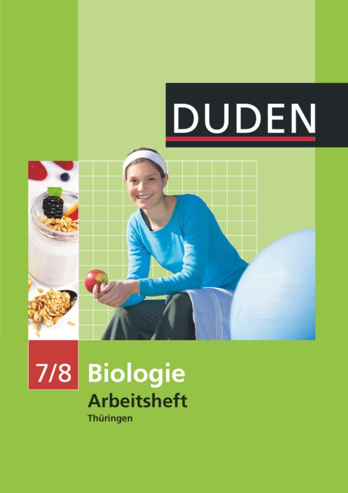 Arbeitsheft Biologie 7/8. Thüringen als Buch (geheftet)