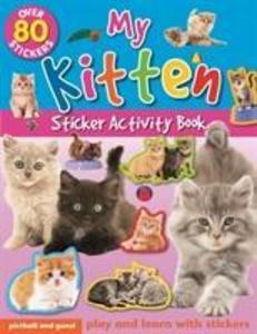 My Kitten Sticker Activity Book als Taschenbuch