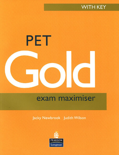PET Gold Exam Maximiser with key NE and Audio CD Pack als Buch