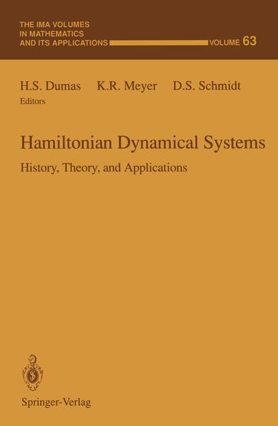 Hamiltonian Dynamical Systems: History, Theory, and Applications als Buch (gebunden)